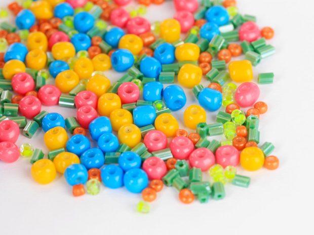 perline di plastica