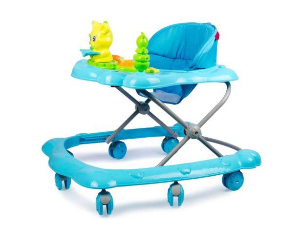 girello per neonati azzurro